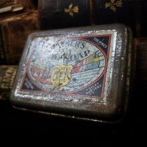 Vintage soap tin!